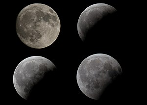 August 2008 lunar eclipse - Image: David HT Eclipse de luna en Moraira (by)