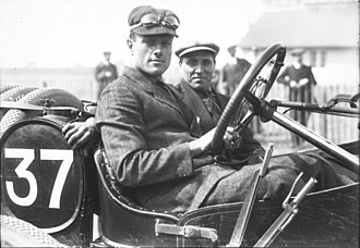 David Bruce-Brown - Image: David Bruce Brown in his Fiat at the 1912 French Grand Prix at Dieppe (4)