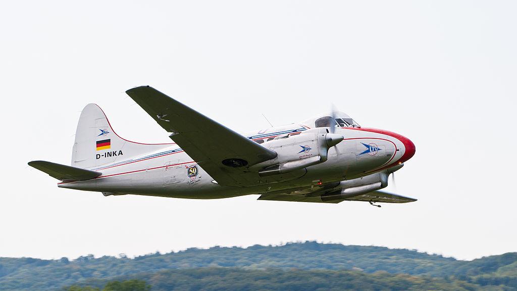 De Havilland DH-104 Dove 8 D-INKA OTT 2013 05.jpg