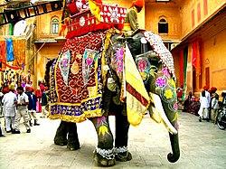 Decorated Indian elephant.jpg