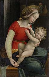 Defendente Ferrari: Virgin and Child