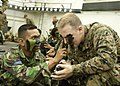 Defense.gov News Photo 100529-M-1194W-034 - U.S. Marine Corps Sgt. Robert J. Janson commander of 2nd Platoon Alpha Company 2nd Battalion 24th Marine Regiment has his face painted.jpg