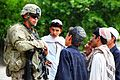Defense.gov News Photo 110514-A-UH396-243 - U.S. Army Spc. Eric Frazier with 2nd Platoon Charlie Company 1st Battalion 26th Infantry Regiment 3rd Brigade 1st Infantry Division speaks.jpg