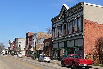 Delavan, Illinois - Downtown Delavan