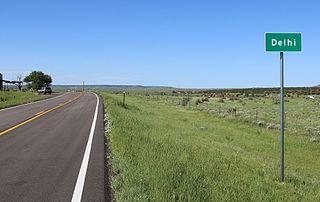 Delhi, Colorado Unincorporated community in State of Colorado, United States