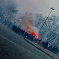 Demonstration of PSG supporters, Paris 13 March 2011 001.jpg