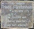 Denkstein Joachim-Friedrich-Str 5 (Halsee) Frieda Fürstenheim.jpg