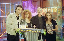 Tweede van links - Denktank in 1998