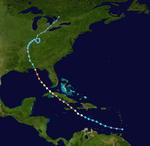 Hurricane Dennis Track
