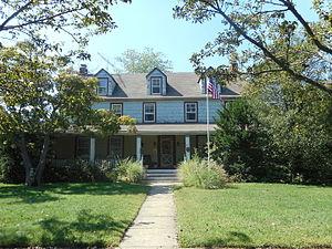 National Register of Historic Places listings in Hempstead (town), New York - Image: Denton Homestead, East Rockaway 1