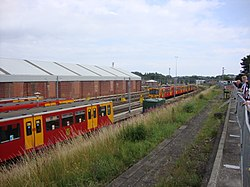 Depot yard, Tyne and Wear Metro depot open day, 8 August 2010 (2).jpg