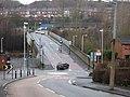 Derker Railway Bridge and Station - geograph.org.uk - 305837.jpg