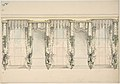 Design for Green and White Curtains with Green Fringes, and White and Gold Pediments MET DP807200.jpg