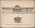 Design for Improving the Old Alm's-House, North Side of City Hall Park, Facing Chambers Street, New York MET DT12081.jpg