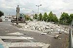 Destruction de l'Aérophare sur le parking du Centre commercial Evry 2 le 20 juin 2015 - 4.jpg