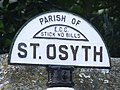 Detail Of Finger Post - geograph.org.uk - 1431971.jpg