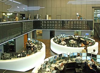 Frankfurt Stock Exchange - Frankfurt Stock Exchange floor