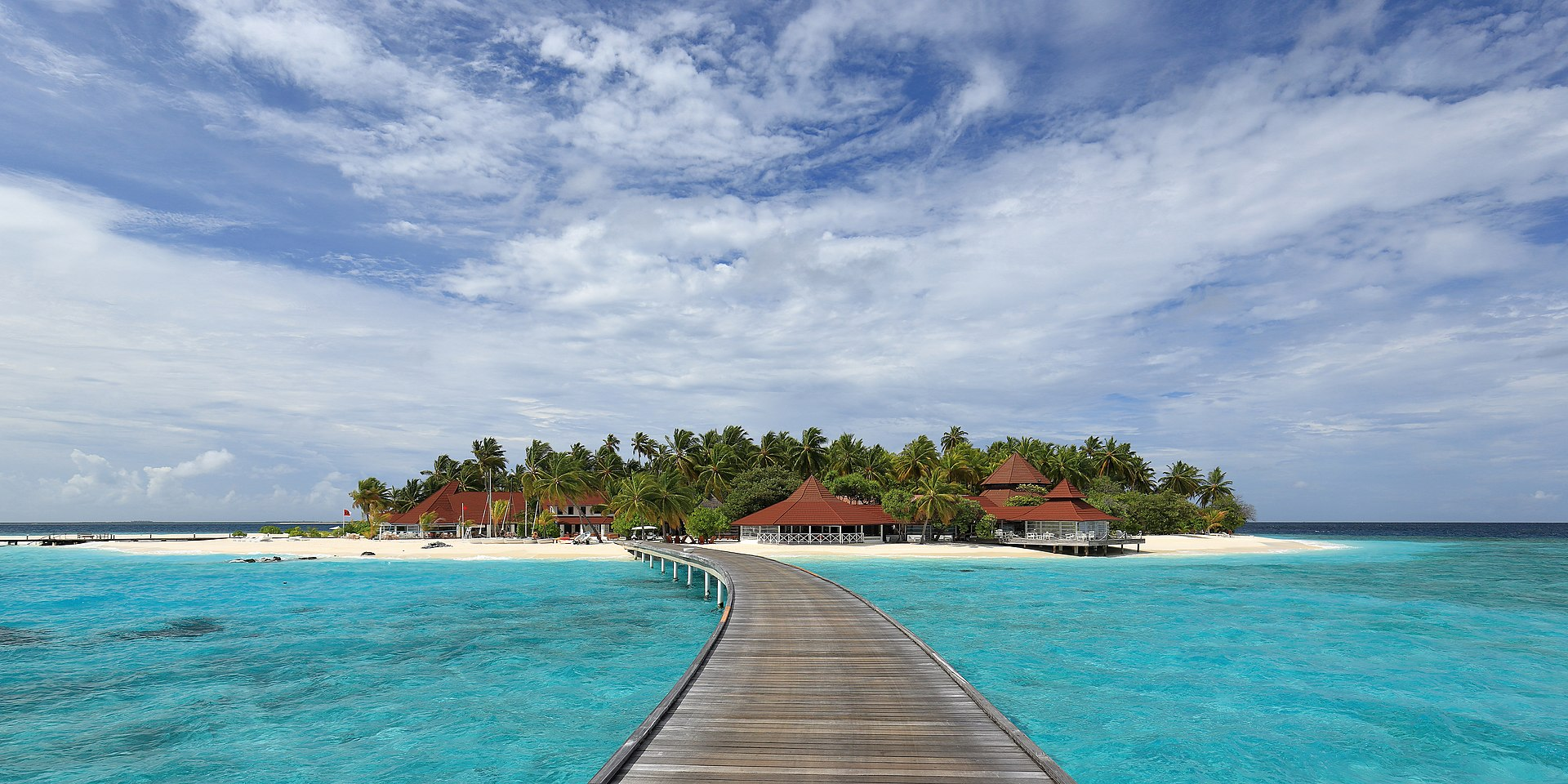 Skyline of Thudufushi