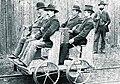 Die Daimler Motor-Draisine erstmals im Sommer 1887 zwischen Esslingen und Kirchheim-Teck erprobt.jpg