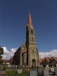 Diebach Place in Bavaria, Germany