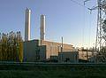Dieselcentrale Harelbeke met elektrisch vermogen van 84 Megawatt; door recuperatie uitlaatgassen 3,5 Megawatt.JPG