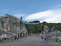 Dinant, la Collégiale Notre-Dame en de brug positie2 foto6 2012-06-30 15.08.JPG