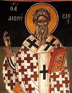Pope Dionysius of Alexandria Patriarch of Alexandria