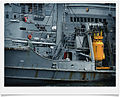 Diving apparatus (yellow) on war ship.jpg