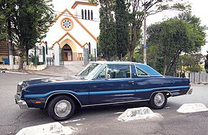 O Magnum era o coupé de luxo do Dart