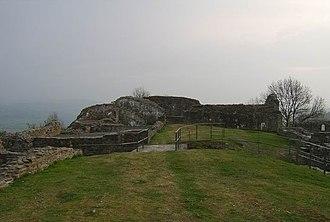 Dolforwyn Castle - Image: Dolforwyn Castle, Powys geograph.org.uk 404113