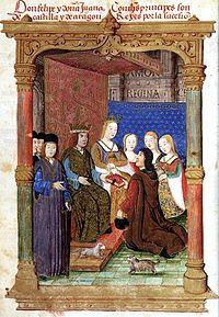 Genealogía de los Reyes Católicos 200px-Don_Felipe_y_Do%C3%B1a_Juana
