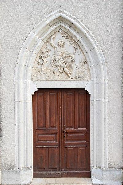 Door of the Church of St-Jean de Gonville