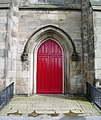 Doorway, St Thomas Church, Pendleton, Salford - geograph.org.uk - 527675.jpg
