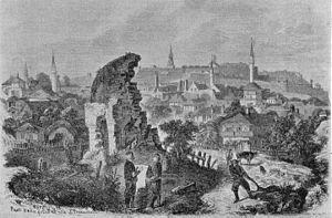 Dorćol - Dorćol during the Ottoman period.