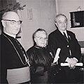 Dori CHAUVIN (1899-1979) - Remise de la médaille de la reconnaissance du diocèse d'Ille-et-Vilaine - 2 février 1969.jpg