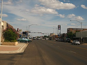 Andrews, Texas - Downtown Andrews