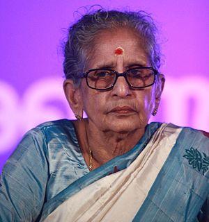 M. Leelavathy Indian writer and academic