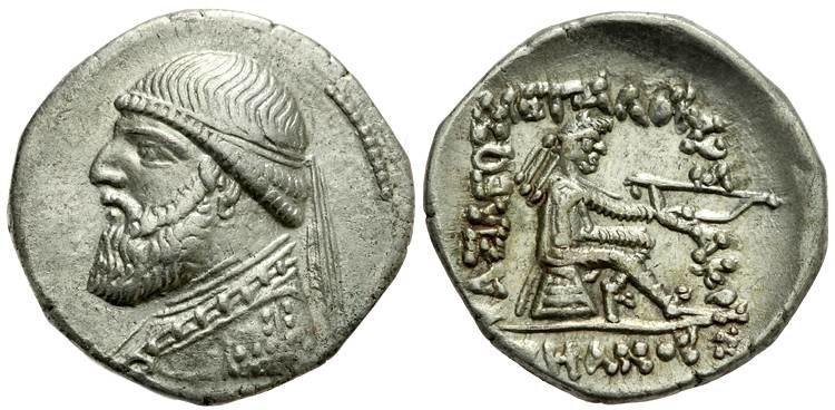 Drachma Mithradates II