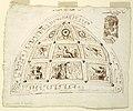 Drawing, Ceiling Vault Decoration, Camera da Letto, Sala di Cornelia di Palazzo Cavina, Faenza, 1816 (CH 18110647).jpg