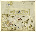 Drawing, Embroidery Design for a Gilet- Birds in a Garden, 1780–90 (CH 18214273).jpg