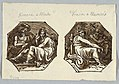 Drawing, Mars and Juno; Mercury and Diana set in Diagonal Composition, 1815 (CH 18122131).jpg