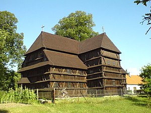 Hronsek - A wooden church from 1726