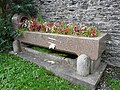 Drinking trough full of flowers - geograph.org.uk - 1171624.jpg