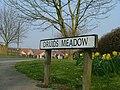 Druids Meadow Sign, adjacent to the Devil's Arrows Standing Stones, Boroughbridge.jpg
