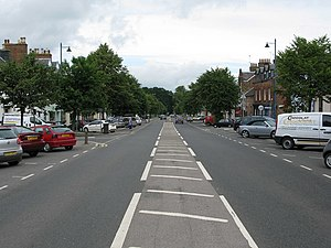 A76 road - A76 in Thornhill