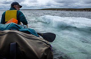 lake in Nunavut, Canada