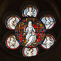 Dublin Christ Church Cathedral Passage to Synod Hall Window Seven Gifts of the Holy Spirit 2012 09 26.jpg