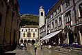 Dubrovnik, Uhrturm und Sponza's palace IMG 8155.jpg