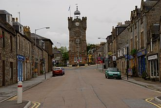 Dufftown Clock Tower - Image: Dufftown clock tower