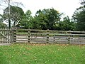 Dulverton , Fence and Riverside Benches - geograph.org.uk - 1494158.jpg
